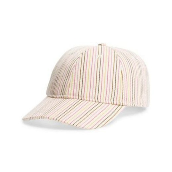 2e55cc91fdc Madewell Womens Multi Stripe Baseball Cap Hat